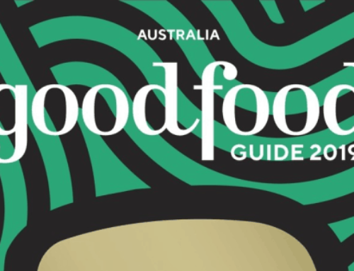 We're stoked! 2019 Good Food Guide